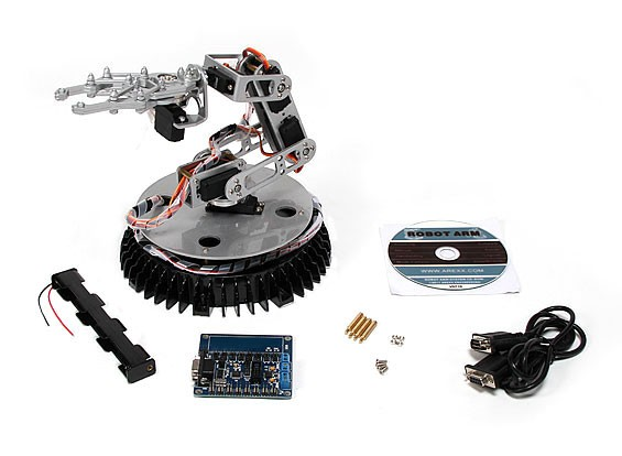 365mm Robotic Arm ж / комитет по контролю и связи ПК