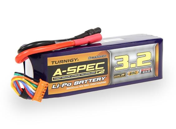 Turnigy нано-технологий A-SPEC G2 3200mAh 6S 65 ~ 130C Липо пакет