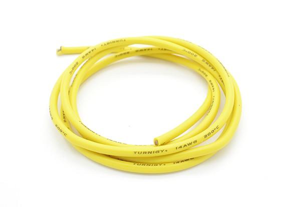 Turnigy Pure-силиконовый провод 14AWG 1м (желтый)