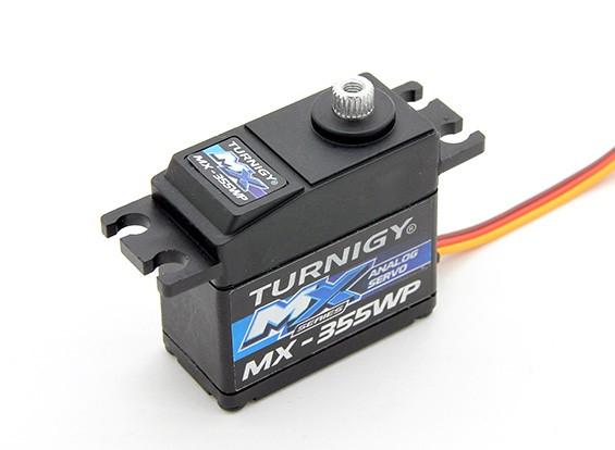 Turnigy ™ MX-355WP Водонепроницаемый BB / AS / MG Servo 12кг / 0.14sec / 42г