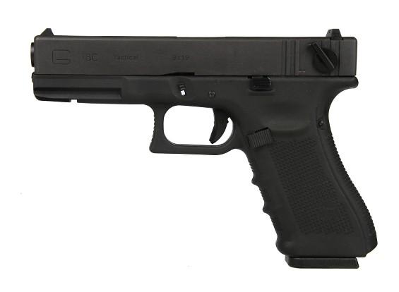 МЫ G18 Gen4 GBB пистолет (черный)