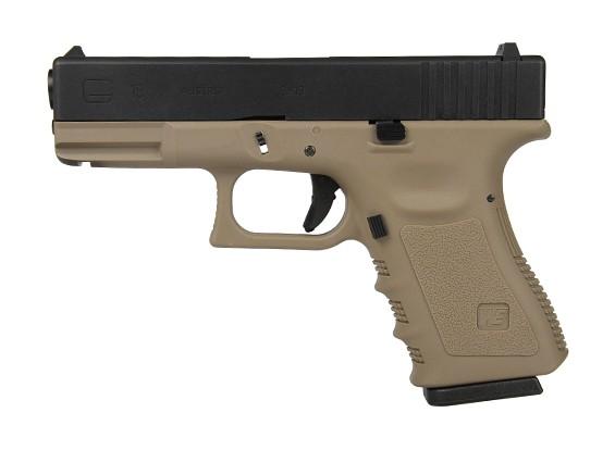 МЫ G19 GBB пистолет (Tan)