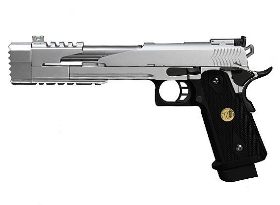 Мы Привет-CAPA 7-дюймовый Dragon B GBB пистолет (серебро)