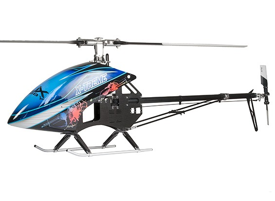 RJX X-Treme 50 EP 600 Размер вертолета Kit (Ременный версия)