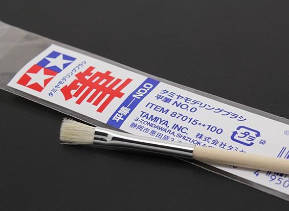 Tamiya Стандартная плоская кисть (пункт 87015)