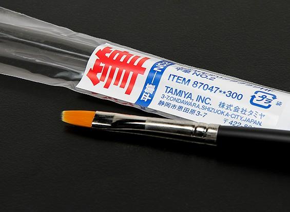Tamiya Высококачественная отделка Кисть плоская (пункт 87047)