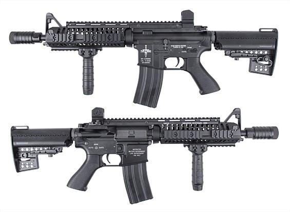 King Arms CASV M4 CQB AEG (черный)