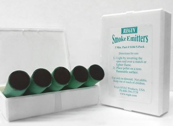 3 минуты Зеленые картриджи дыма (5 шт)