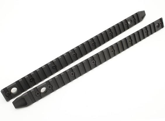 Система Dytac UXR4 KeyMod Полный размер раздела рельса (2pcs / мешок)