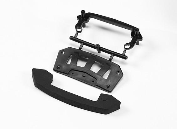 Передний бампер Set - Дьявол 1/10 4WD Drift Car