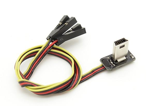 Super Slim GoPro 3 видео кабель и вывод питания для FPV