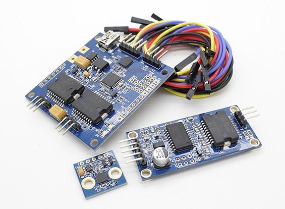 Quanum AlexMos Бесщеточный Gimbal контроллер 3-Axis Kit Basecam (SimpleBGC)