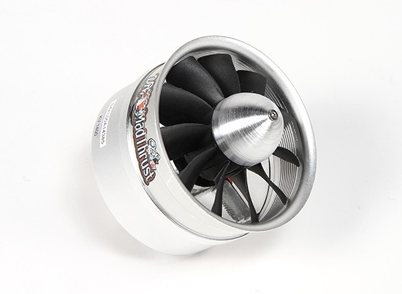 Д-р Mad Thrust 90мм 11-Blade сплав EDF 1400kv двигателя - 2900 Вт (8S) (Счетчик Вращающийся)