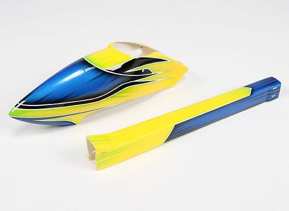Стекловолокно Спорт Стиль Фюзеляж для HK / Trex-450 (желтый)
