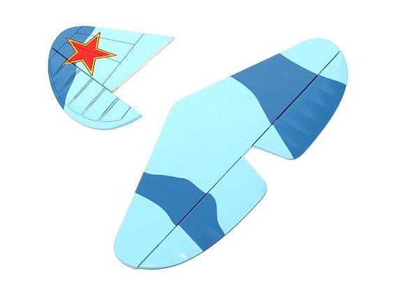 Як-9 GP / EP - Хвост