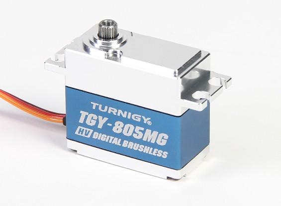 Turnigy ™ TGY-BLS805MG HV / DS / MG Servo ж / Случай сплава (760us PWM) 7.5kg / 0.039sec / 68G