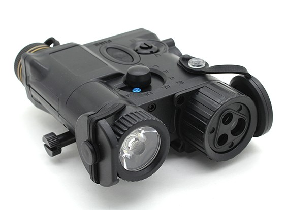 Элемент EX176 AN / PEQ-16A стиль лазерный / фонарик устройство (черный)