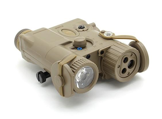 Элемент EX176 AN / PEQ-16A стиль лазерный / фонарик Устройство (Dark Earth)