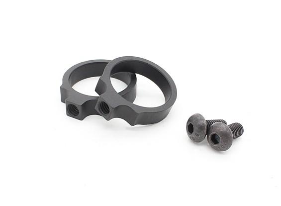 Элемент EX312 LR тактический Маунт кольца 0,83 дюйма (черный, 2 шт / уп)