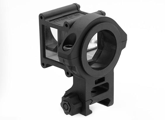 Элемент EX251 Airsoft ACT Угол Sight отражатель (черный)