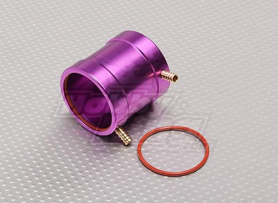 Фиолетовый алюминиевый водяной рубашкой охлаждения (36мм)