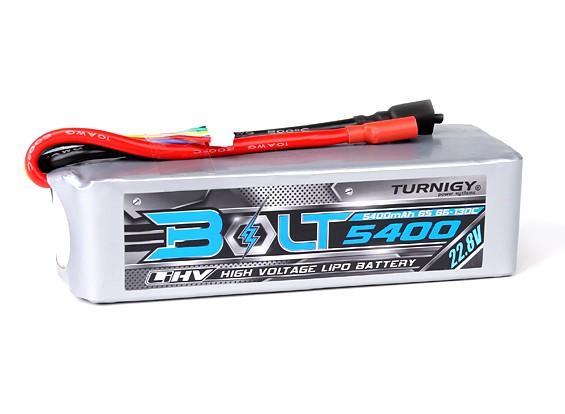 Turnigy Болт 5400mAh 6S 22.8V 65 ~ 130C высокого напряжения LiPoly Pack (LiHV)
