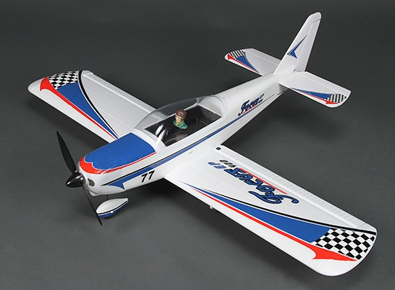 Фокус-EP400 Sportplane EPO 965mm (синий) (ПНФ)