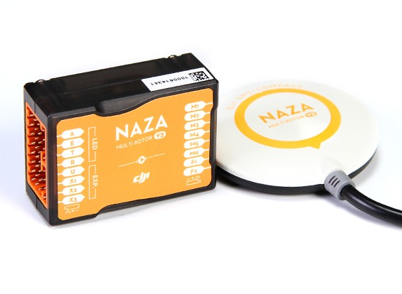 DJI Naza-M V2 Multi-Rotor Flight GPS Combo контроллер