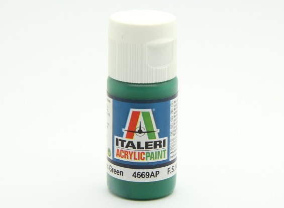 Italeri Акриловая краска - Gloss Зеленый