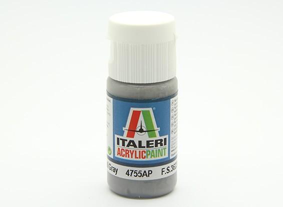Italeri Акриловая краска - Flat Dark Gray Галл