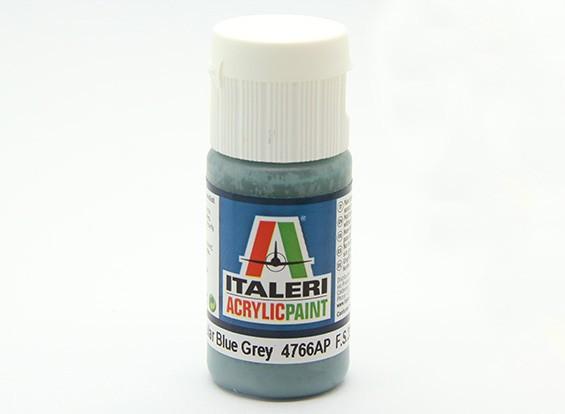 Italeri Акриловая краска - Flat Non Зеркальный Синий Серый