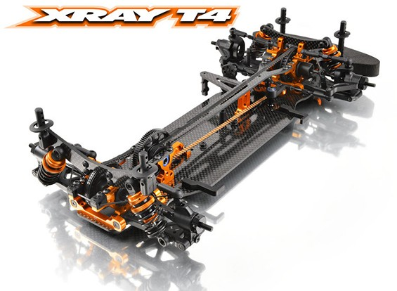 XRAY T4 2014 1/10 Электрический конкурс кузовном (комплект)