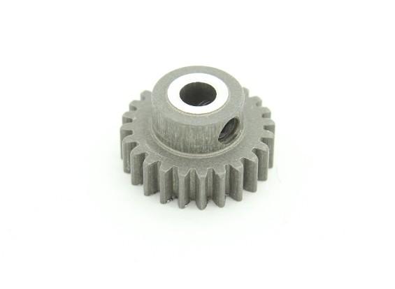 XRAY T4 2014 1/10 кузовном - Узкий жесткий покрытием алюминиевой шестерней 24T / 48P