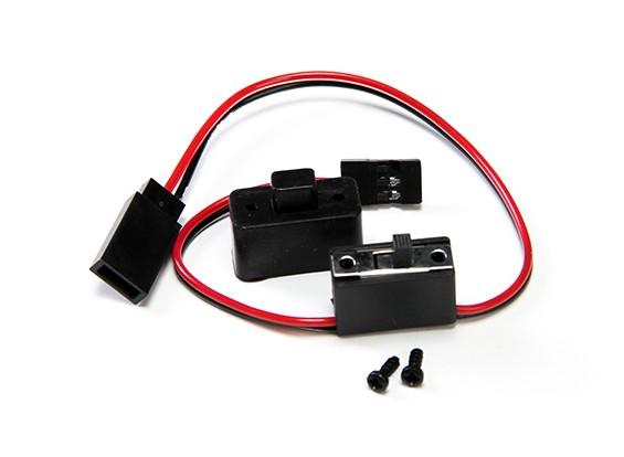 XRAY XB9E 1 / 8th багги - Переключатель приемника - XB808, XB9E