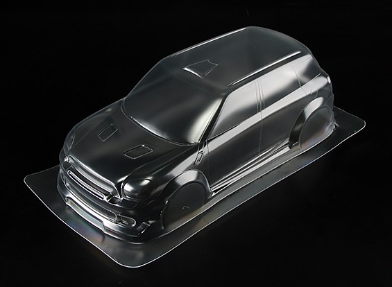 1/10 Mini WRC Clear Body Shell