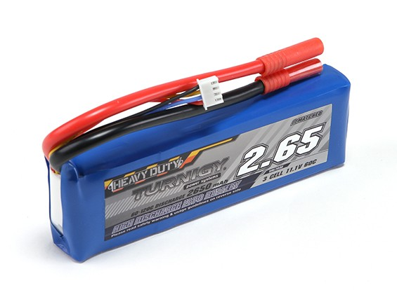 TURNIGY Heavy Duty 2650mAh 3S 60C Lipo обновления