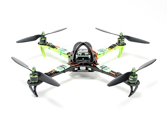 Turnigy SK450 Quad Copter Powered By MULTISTAR. Вилка и Fly Quadcopter Set (ПНФ)