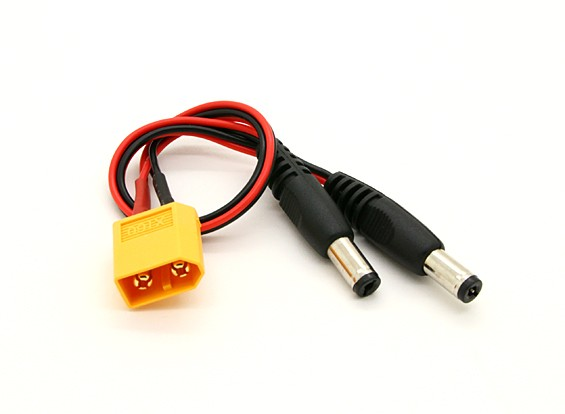 XT60 до 2 х DC Jack конвертер (1шт)