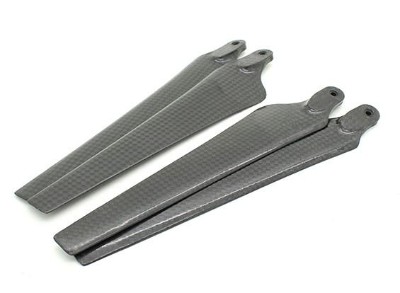 Мультикоптер углеродного волокна для DJI S800 Эво Propeller 15x5.2 Black (CW / CCW) (2 шт)
