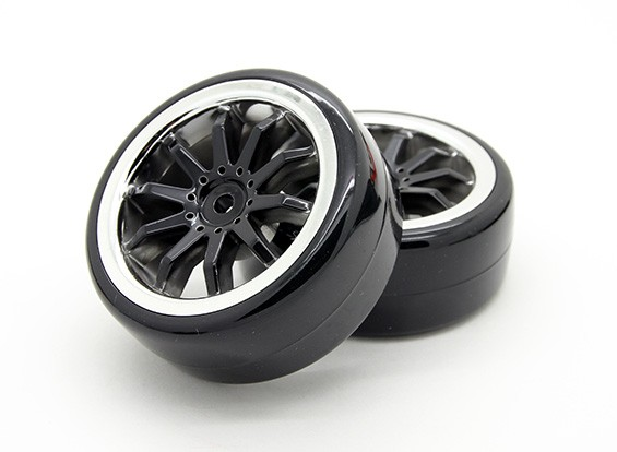 Дрейф Tire Set - Turnigy Маленький Cosmos 1/16 дрифтмобиля (2 шт)