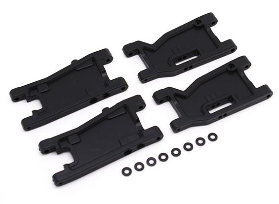 Передние и задние Susp Arms комплект (4шт) - BSR Гонки BZ-222 1/10 2WD багги гонки
