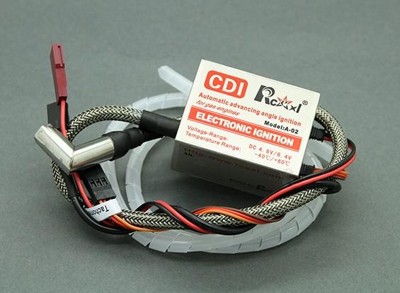 Rcexl Одноцилиндрныйгидравлический CDI зажигания для НГК ME-8 1 / 4-32 90 градусов Cap