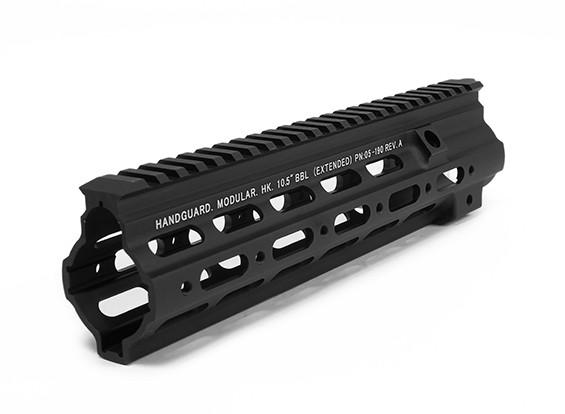 DYTAC G Стиль 10.5inch SMR Рейка для Umarex / VFC HK416 AEG / GBB (черный)