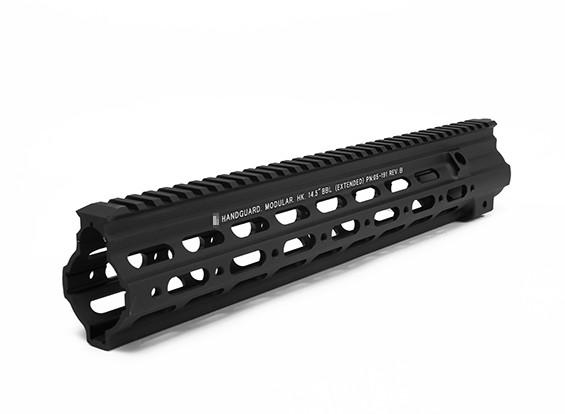 DYTAC G Стиль 14.5inch SMR Рейка для Umarex / VFC HK416 AEG / GBB (черный)