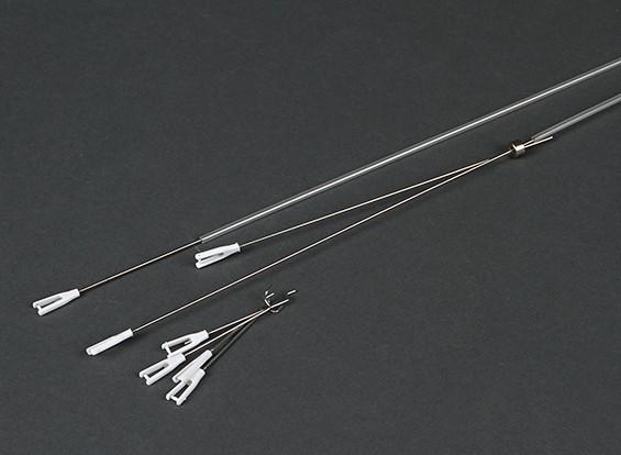 HobbyKing® Bix3 тренер 1550мм - Замена управления Rod Set