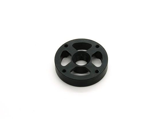 CNC Алюминий M10 Quick Release самозатягиванием Prop адаптер - черный (проп сторона) (против часовой стрелки)