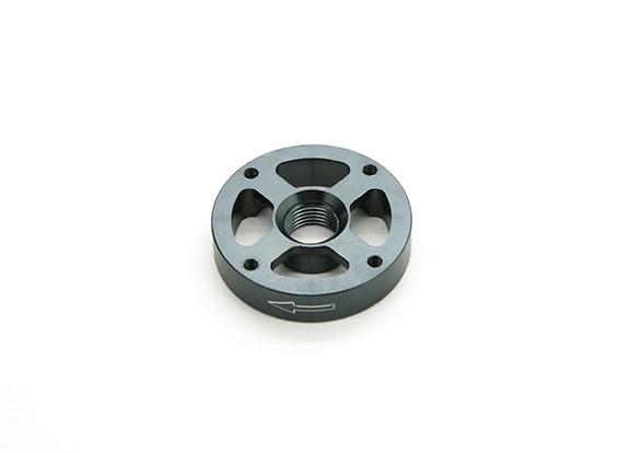 CNC Алюминий M10 Quick Release самозатягиванием Prop адаптер - Titanium (проп сторона) (по часовой стрелке)