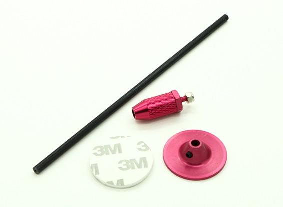 Mini GPS Складной Основание антенны Set / Красный