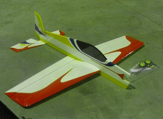 СКРЕСТ / СТОМАТОЛОГИЯ SU-3D профиля Самолет 850mm (ARF) ж / Металлический корпус (AUS Склад)