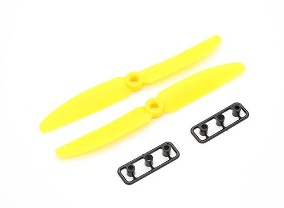 Gemfan Пропеллер 5x3 Желтый (CW / CCW) (2 шт)